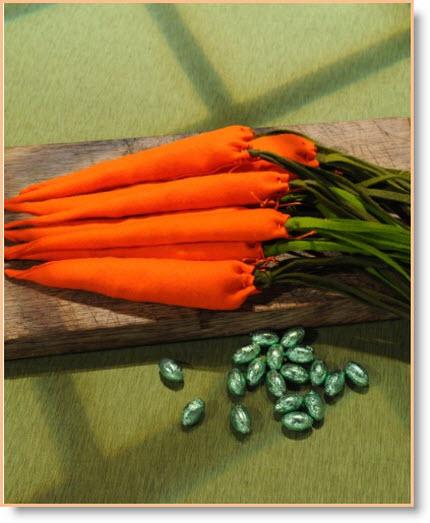 felt Carrots