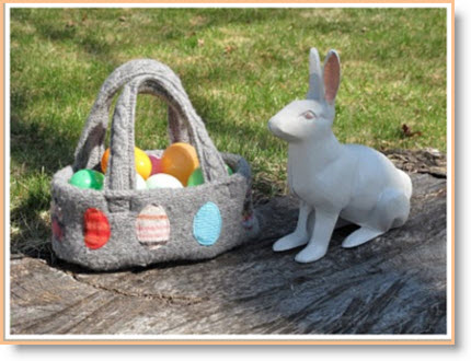 sweater Easter Basket