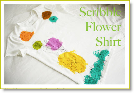 Scribble Flower T-Shirt