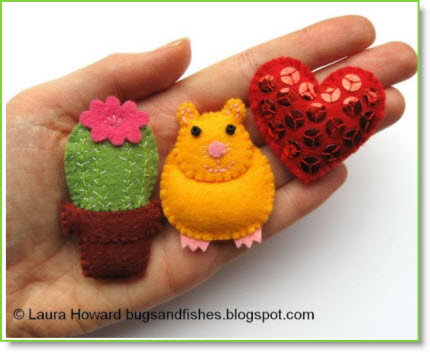 Make a Mini Felt Cactus