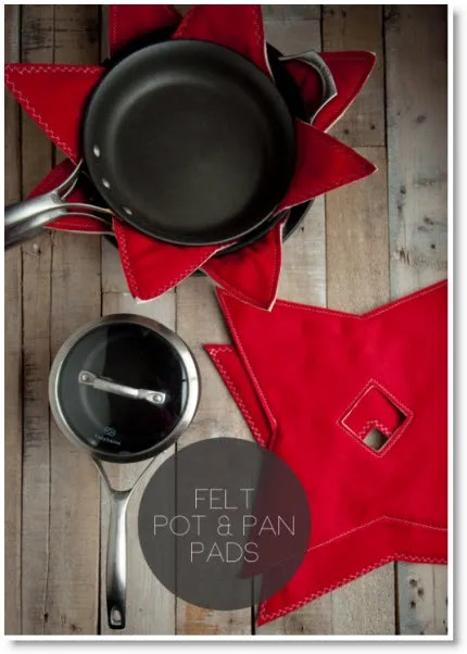 felt pot and pan pads