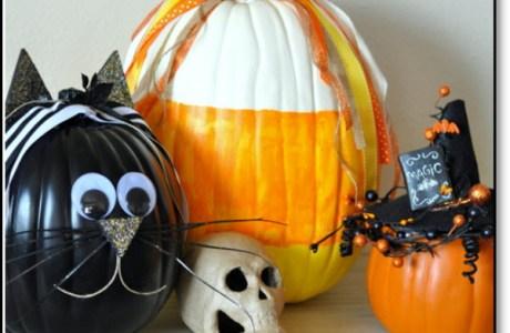 fake pumpkins