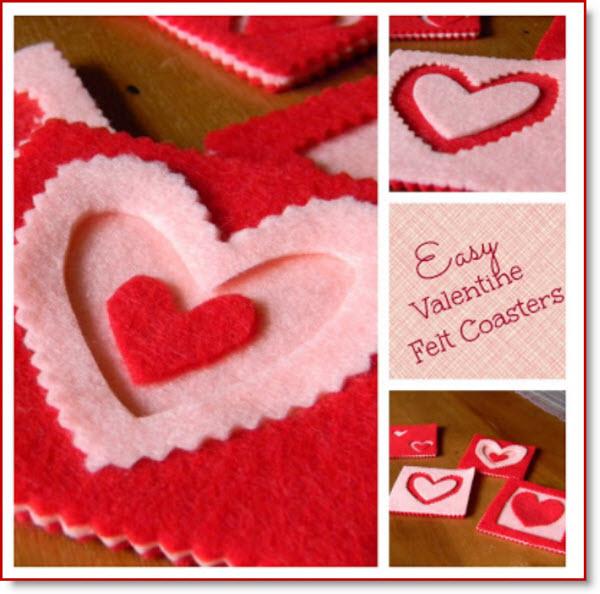 Valentine Coasters