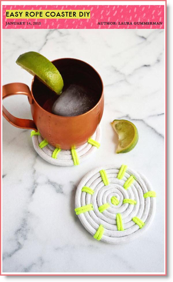 Easy Rope Coaster DIY