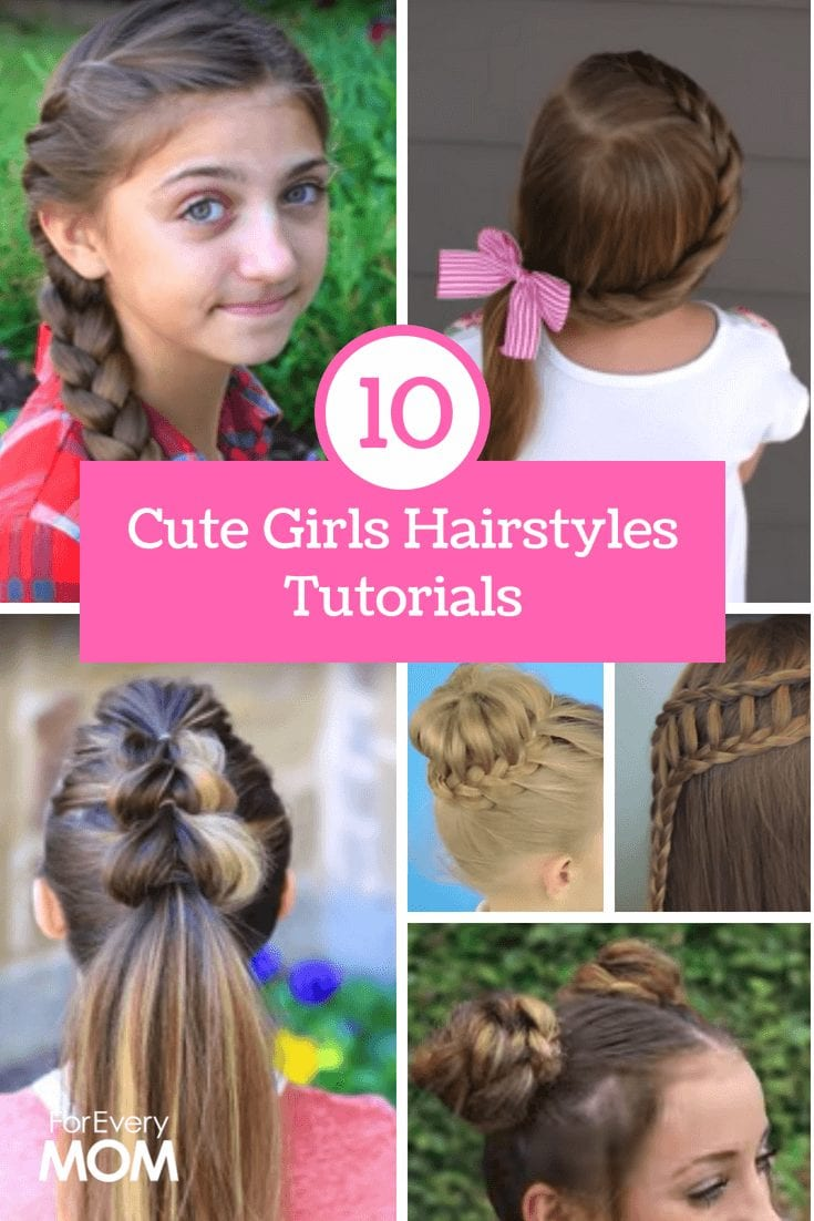 Cute Hairstyles How To Do Them