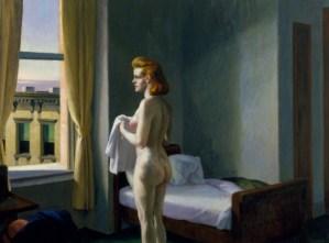 Mañana en una ciudad, 1944. Edward Hopper