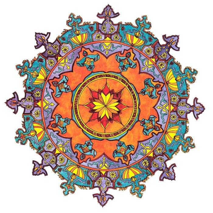 Image Result For Mandala Flower Coloring