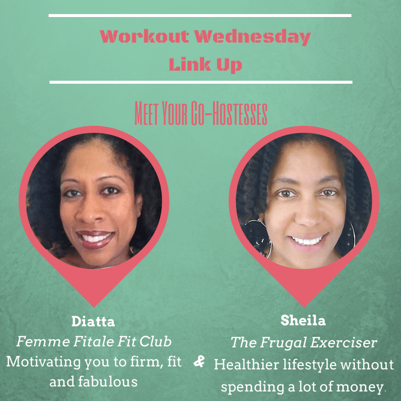 Workout Wednesday Link Up co-hostesses