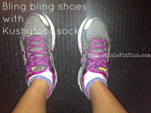 Kushyfoot athletic socks