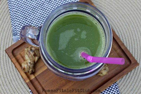 Spicy Bite Green Juice 2