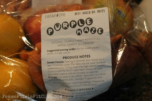 Purple Haze Juice Recipe by Farmivore