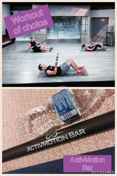 ActivMotion Bar workout #activemotionbar #sweatpink