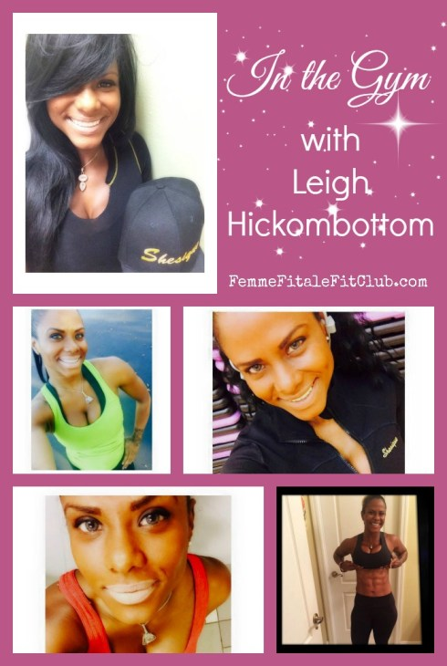 In The Gym with Leigh Hickombottom