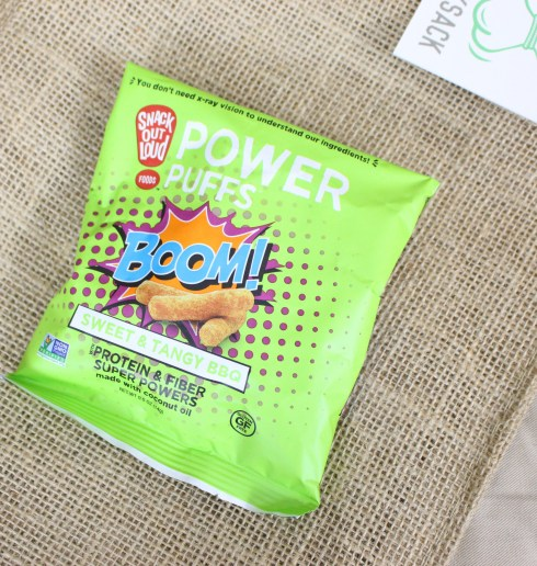 Power Puffs Snack Out Loud