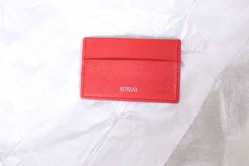 Sorial Card Case