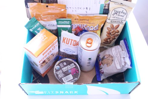 August Fit Snack Box Aerial view