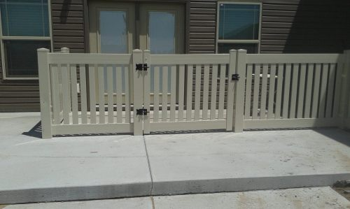 Medium Of Dog Run Fence
