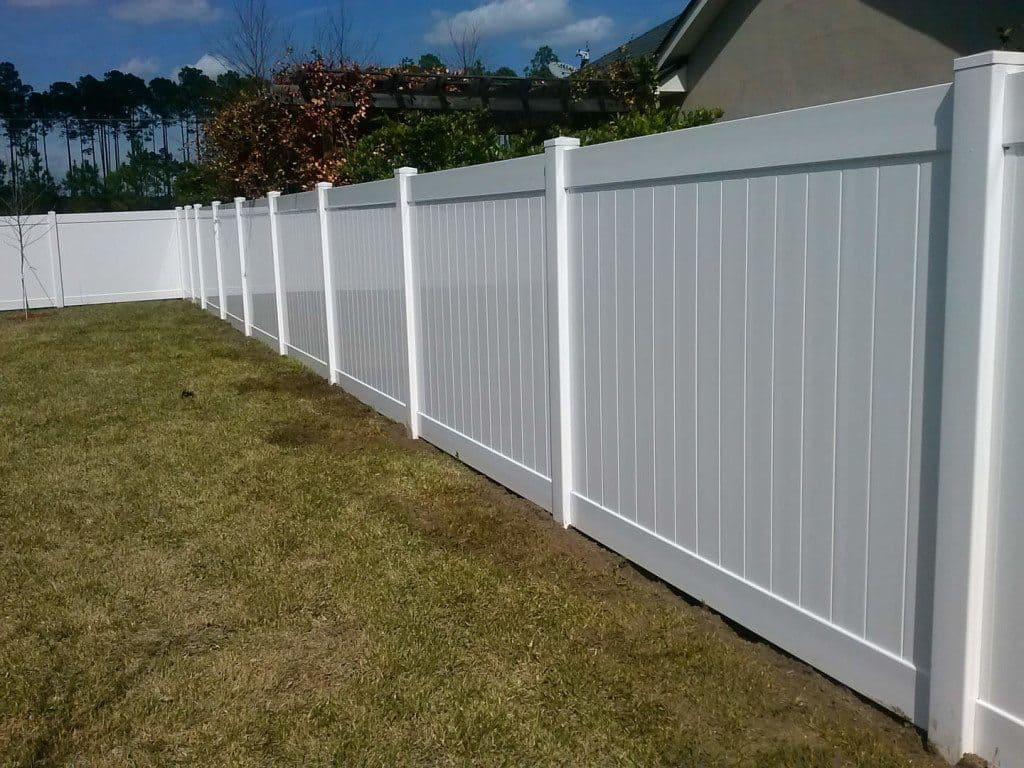 Diy Vinyl Fence Supplies Vinyl Fence Outlet Jacksonville North Florida Fence Company