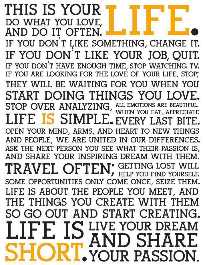 Holstee Manifesto holstee Manifesto | Words To Live By | The Tao Of Dana