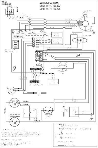 Residential Natural Gas Furnaces Wiring circuit diagram template