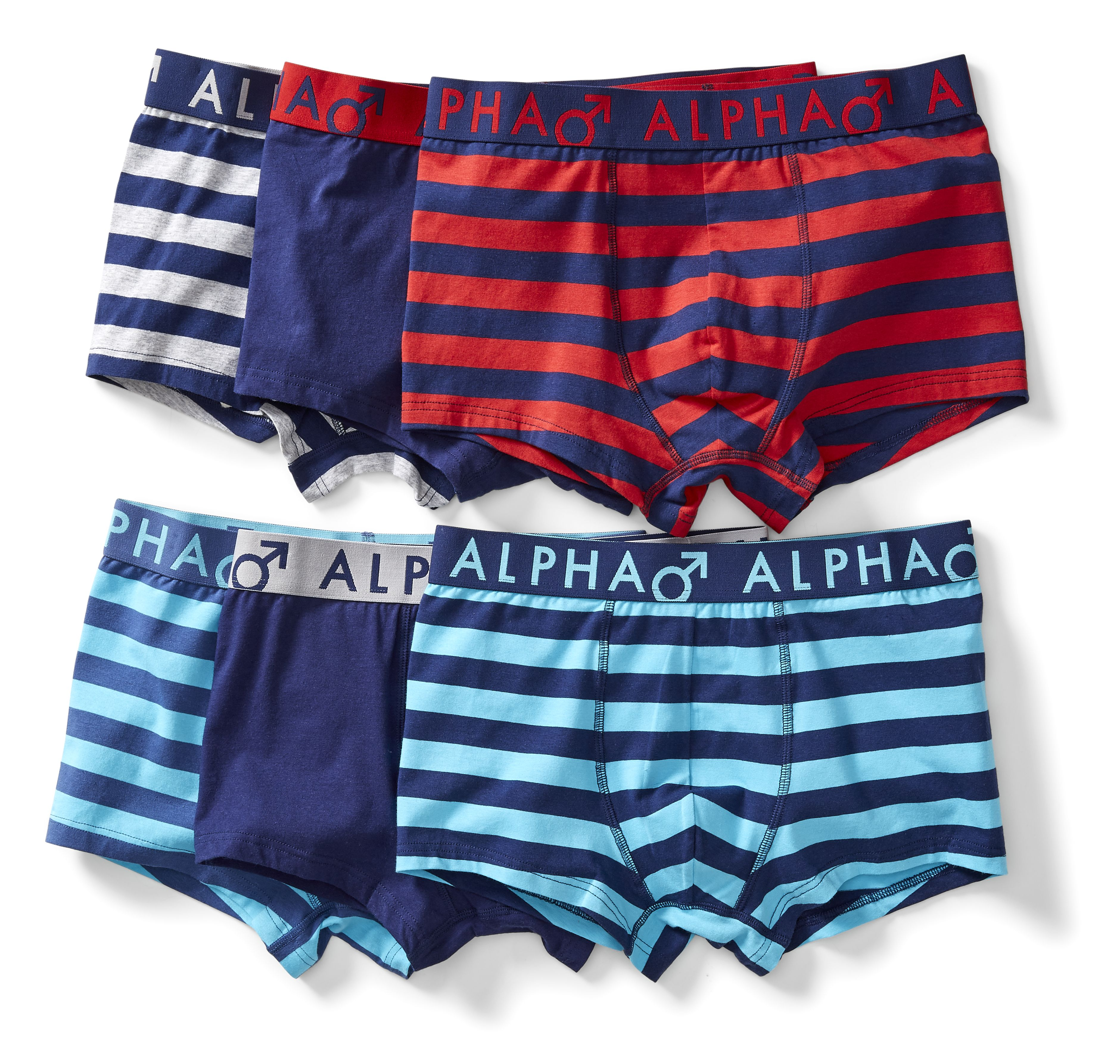 Kmart Men's 3pack Youth Stripe Trunk, sizes S-XXL, RRP$19.00