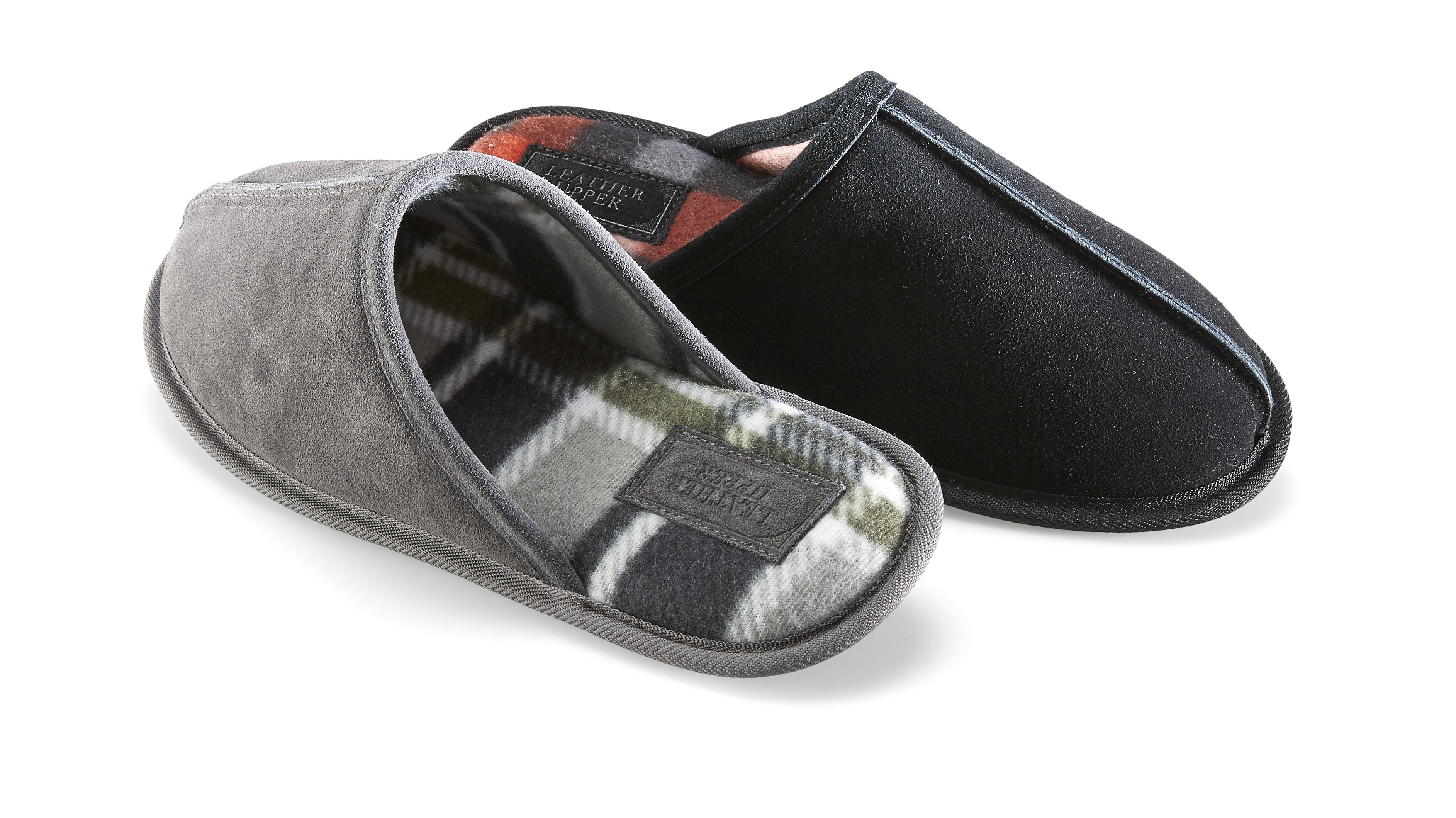 Kmart Men's Suede Slide Slippers, Size 7-13, RRP$17.00