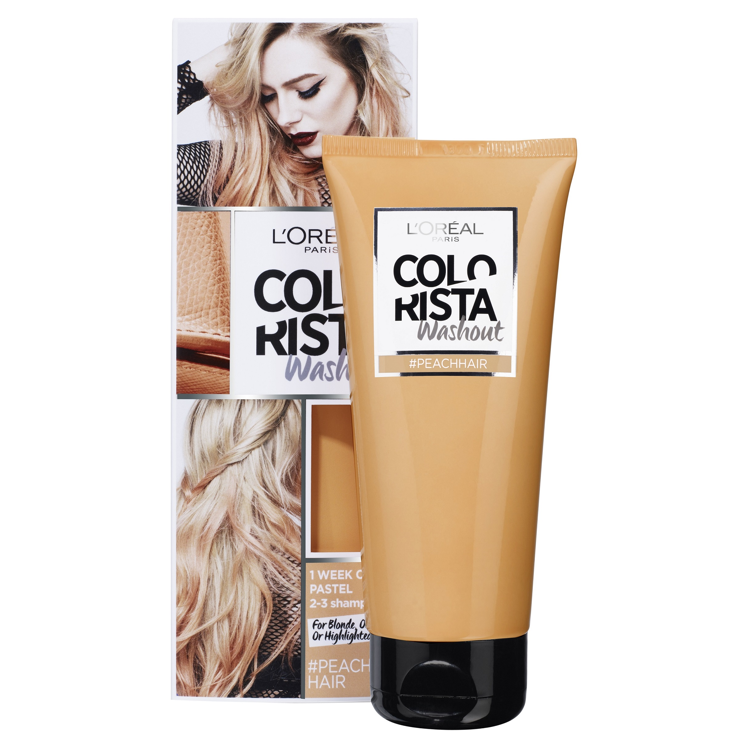L'Oréal Paris Colorista Washout, Peach RRP$17.99