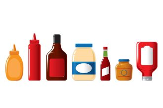 Condiment-Bottles