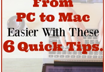 Make Switching From PC to Mac Easier With These 6 Quick Tips.
