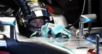 Nico Rosberg busca aprovechar castigo a Hamilton en GP de Bélgica