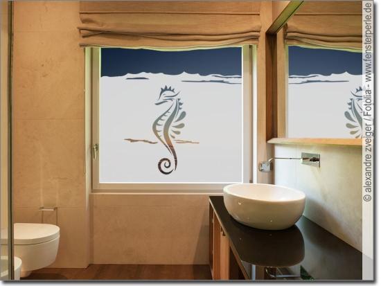 Sichtschutz oder Deko für Bad \ WC Maßanfertigung - badezimmer fensterfolie