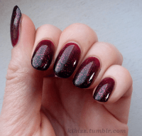 Burgundy Nail Art Design Ideas  Celebrity Fashion, Outfit ...
