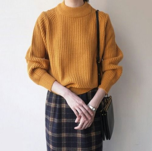 Jeans Trend Herbst 2015 Picked Color: Trend Mustard Outfit Ideas For Early Autumn