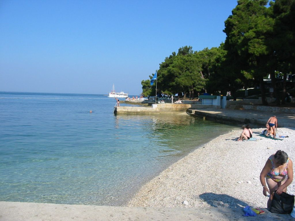 Istrien Ferienhaus Mit Pool Am Strand Apartment Porec Porec Air Conditioning