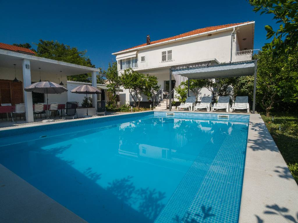 Ferienhaus Kroatien Mit Pool Dubrovnik Apartment Orebic Peljesac Private Pool Sea View