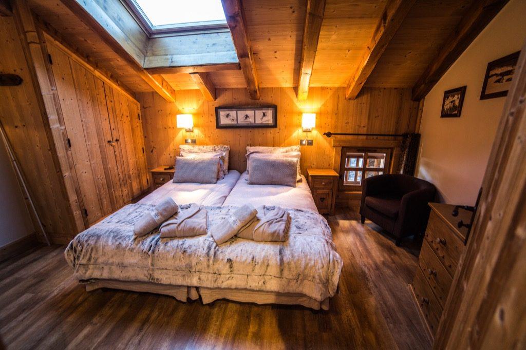 Chambre Style Chalet | Meuble Salle De Bain Bois : 35 Photos De ...