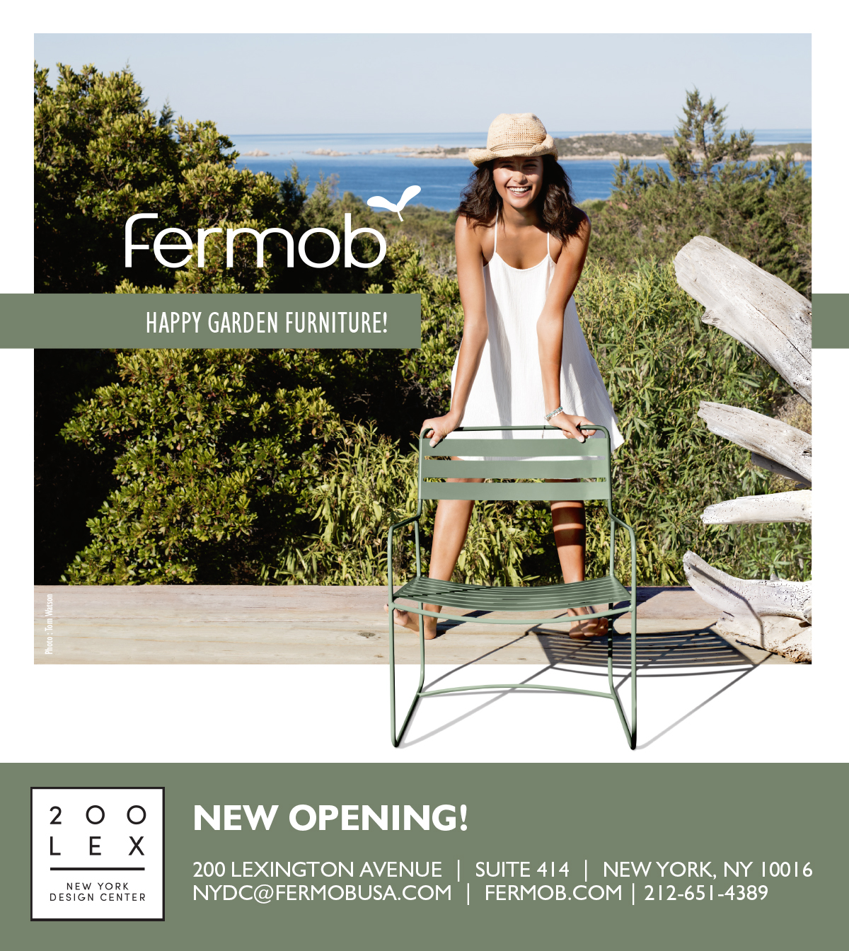 Fermob French Outdoor Furniture Opens Trade Showroom In New York Fermob Usa Blog