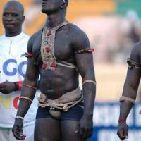 Senegalese Male Wrestling. A way out...!