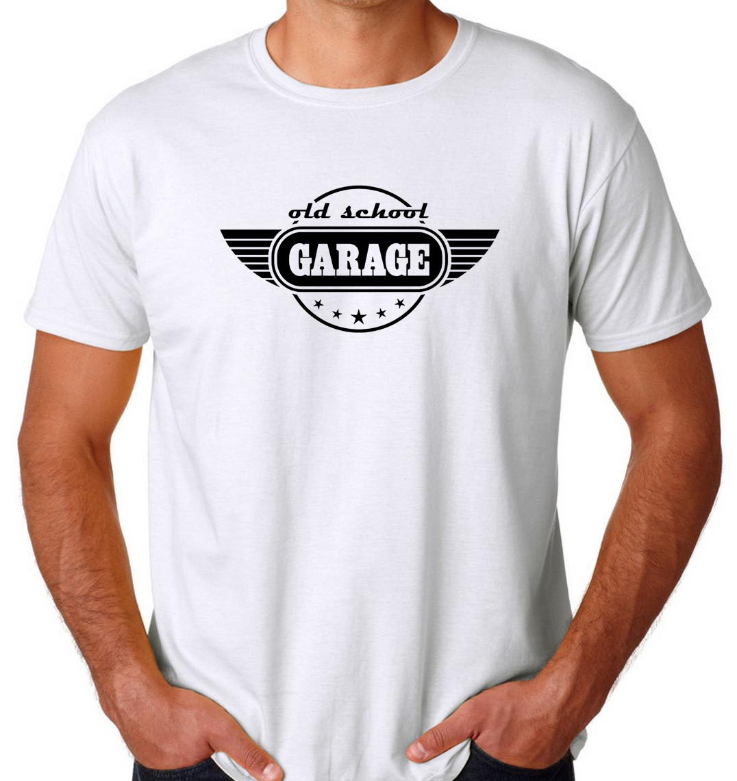 Old School Garage Buy Old School Garage Cheap T Shirt Ferolos
