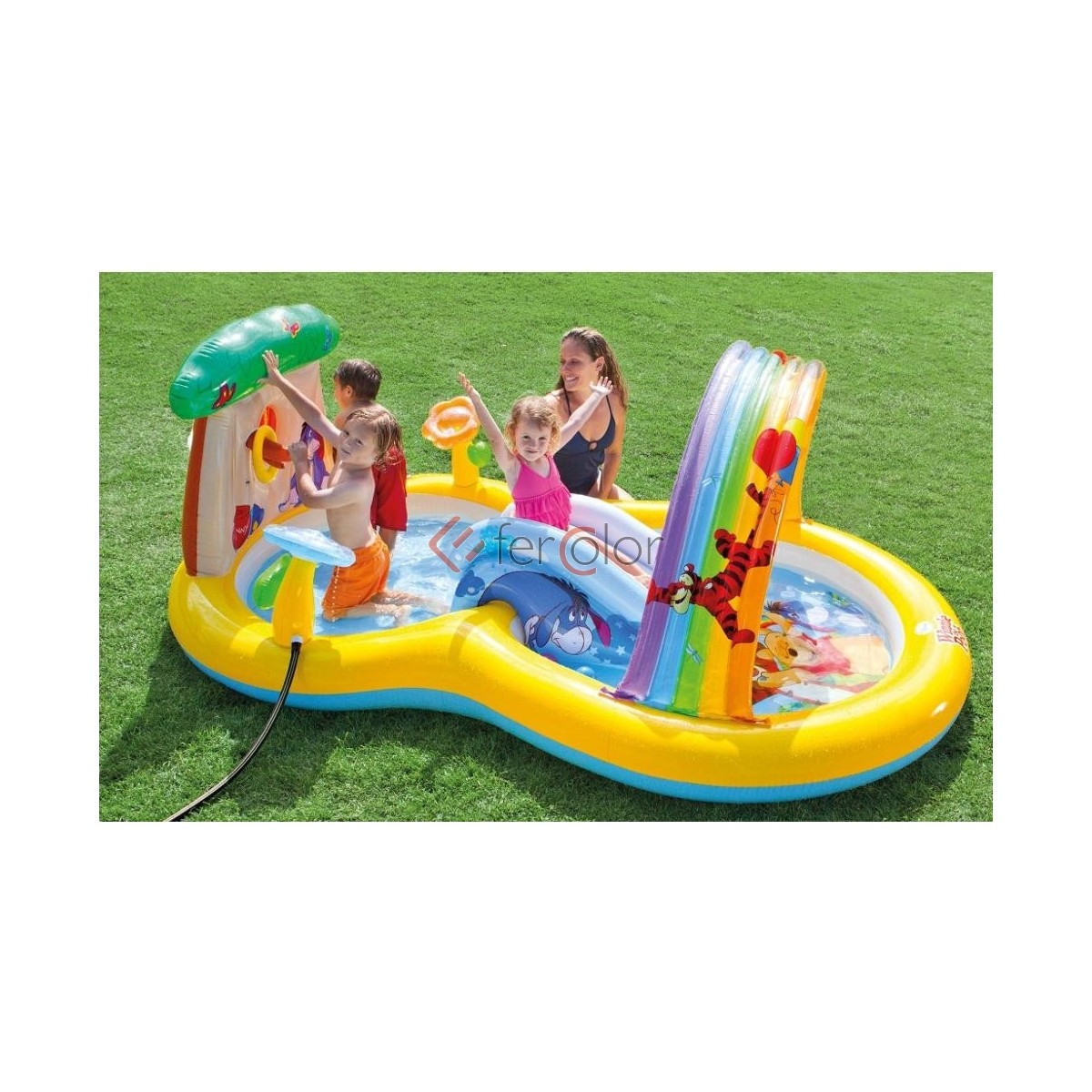 Intex Piscina Gonfiabile Piscina Gonfiabile Intex Bambini Playcenter Winnie The