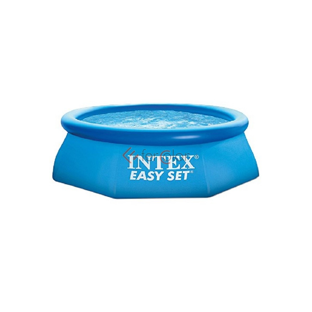 Intex Piscina Gonfiabile Piscina Intex Gonfiabile Easy Set Cm 244 X 76 H No Pompa