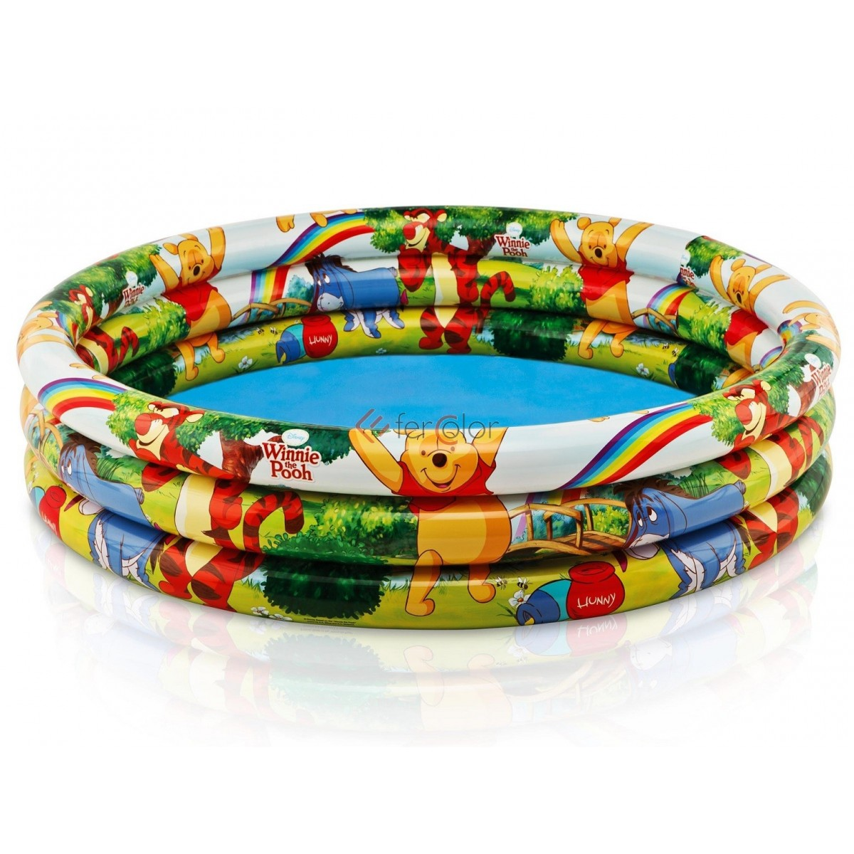 Intex Piscina Gonfiabile Piscina Gonfiabile 3 Anelli Intex Bambini Winnie The Pooh