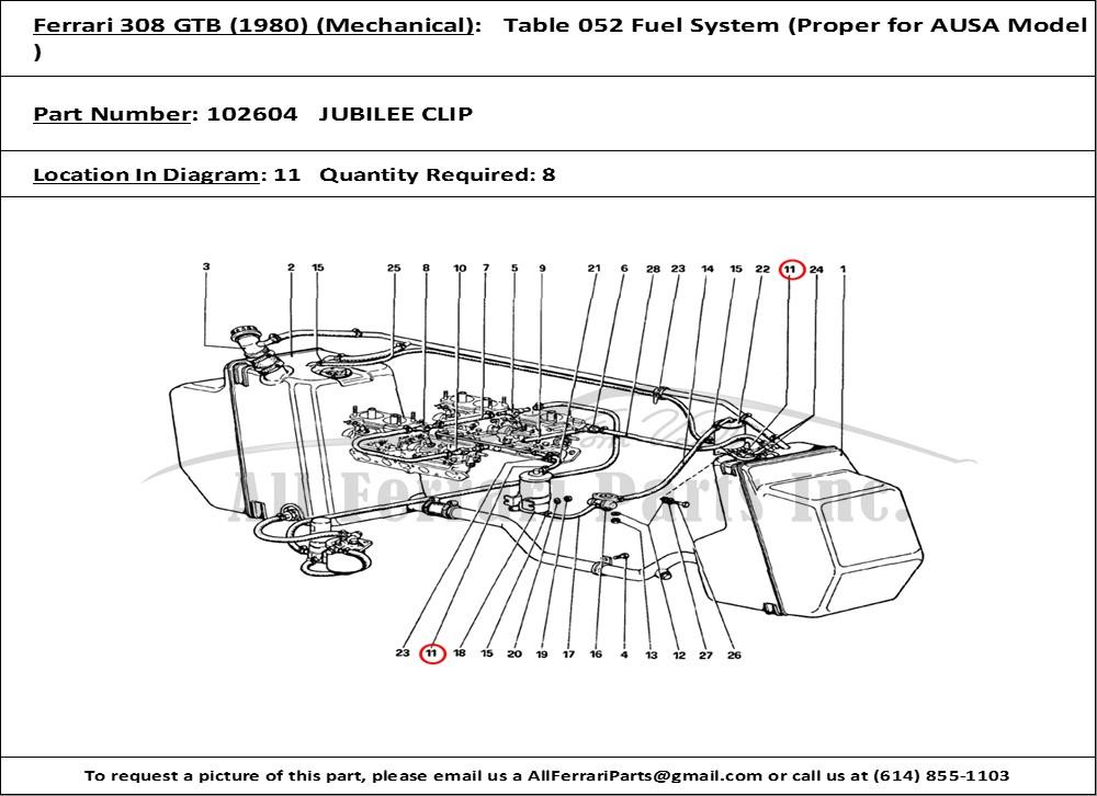 Ferrari 308 Gtb 1980 Blow By System 308 Gtb Diagram - Wiring Diagrams