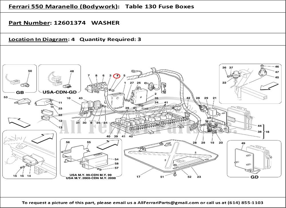 Wiring Diagram Ferrari Modena Ferrari 308 Gts, Ferrari 308 Qv