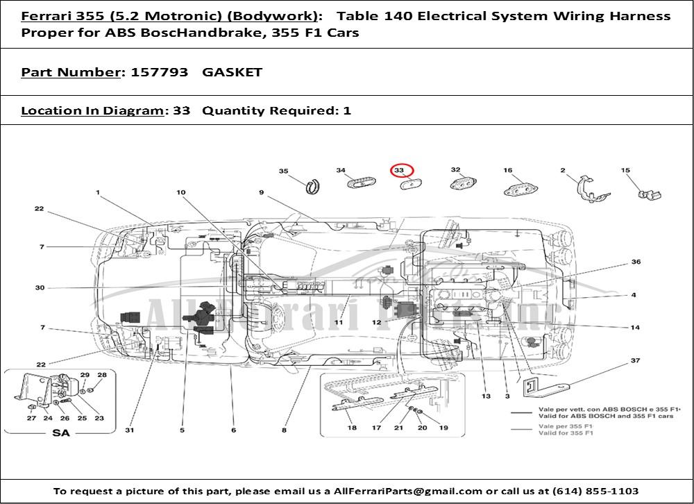 Ferrari 355 Wiring Diagram - Wwwcaseistore \u2022