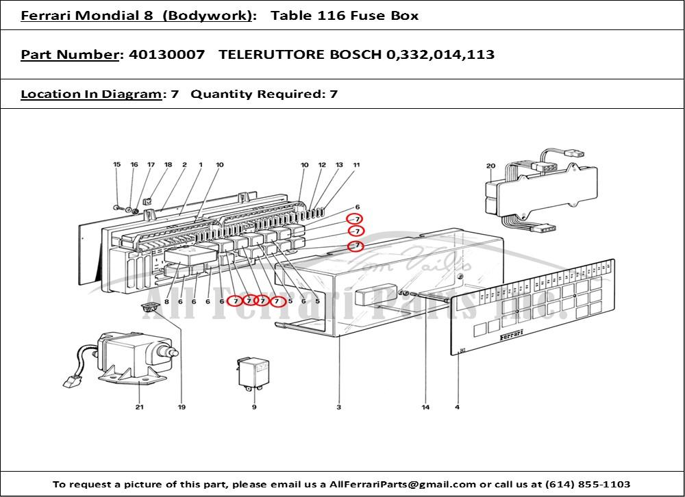 Ferrari Mondial Wiring Diagram - GO Wiring Diagram