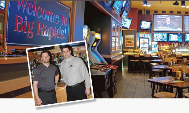 Brian and Jeff Carmody Bring Buffalo Wild Wings to Big Rapids