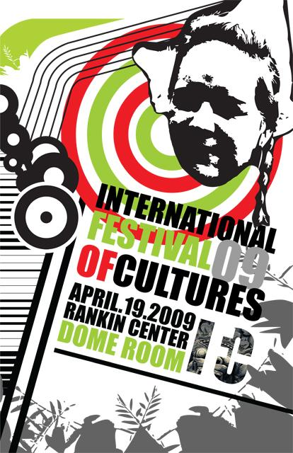 Creative Event Posters Perfect Malaga Event Poster Design With