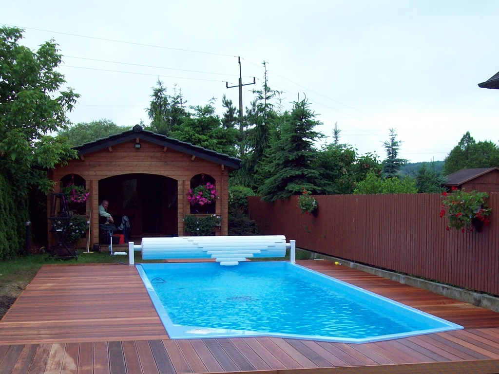 Gartenpool Eckig Gfk Pool Vincent Gfk Swimmingpool California 5 6m Pool