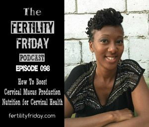 FFP 098 (Bonus)   How To Boost Your Cervical Mucus Production   Nutrition for Cervical Health   Trying To Conceive   Fertility Awareness   Lisa   Fertility Friday